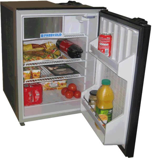 3-way solar -powered refrigerator, 85 L, FREECOLD RFO-85