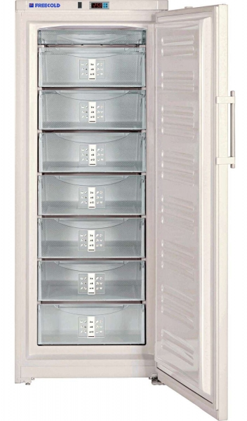 Upright solar-powered refrigerator or freezer, 360 L, FREECOLD RCVI-360