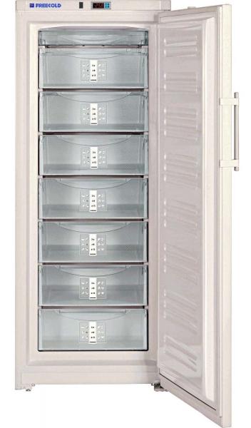 Upright solar-powered refrigerator or freezer, 360 L, FREECOLD RCVI-360