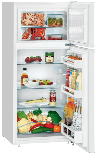 Solar-powered combined refrigerator-freezer, 195 L, FREECOLD CRC-195