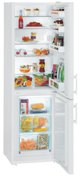 Solar-powered combined refrigerator-freezer, 295 L, FREECOLD CRC-295