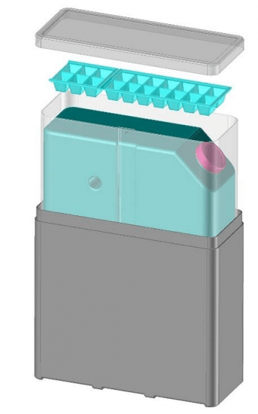 The Ecotainer®, FREECOLD battery-less solar-powered refrigeration system