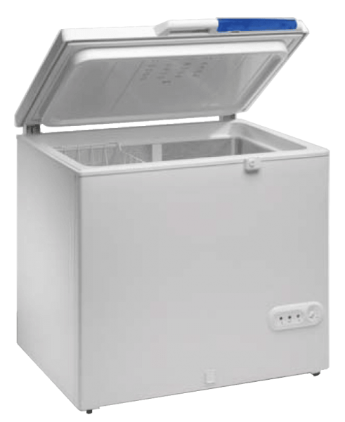 Chest type 180 L solar-powered refrigerator or freezer, FREECOLD RCSI-180