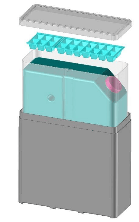 The Ecotainer, direct and battery-less solar refrigeration, patented by FREECOLD