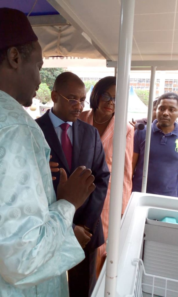 Visit of M. Dodo Ndoke, Minister of Mining, Industry and Technological Development of Cameroon