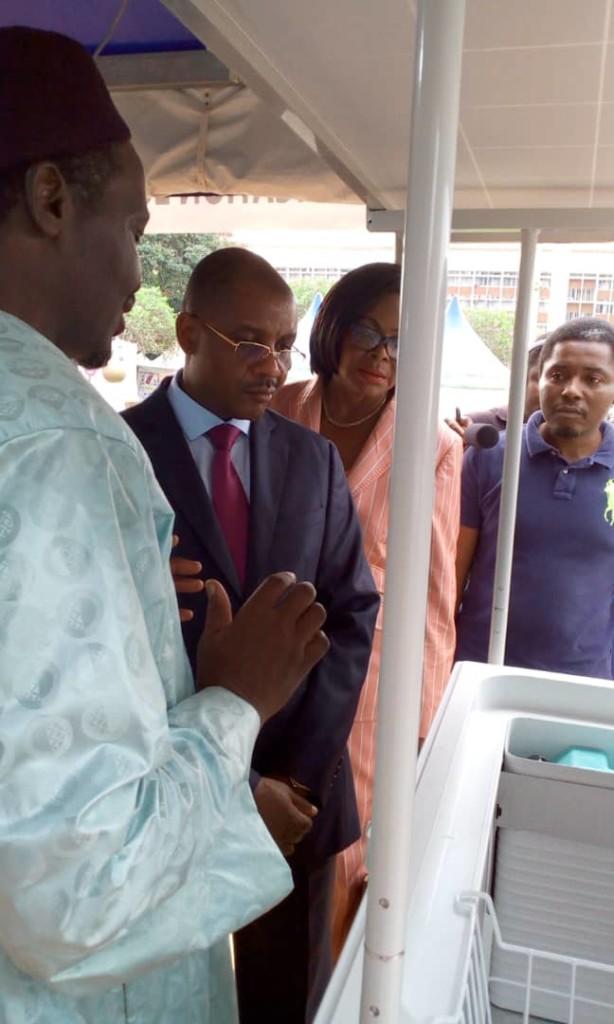 Visite de M. Dodo NDOKE, Ministre des Mines, de l'Industrie et du Développement Technologique du Cameroun