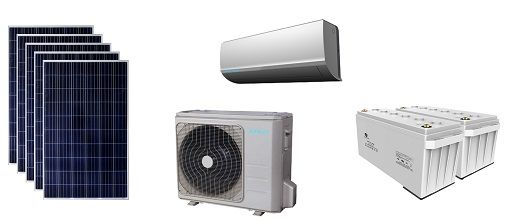FREECOLD  DC 48V solar air-conditioner