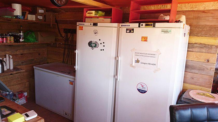 Réfrigérateurs FREECOLD au Lac du Salagou